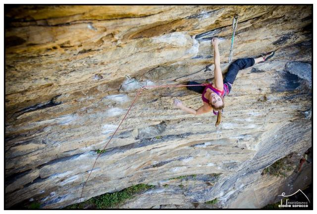 Amazing photo taken by RRG local pro photographer Elodie Saraccaco of my friend Becky Johnson fighting the Red River Gorge Pump....