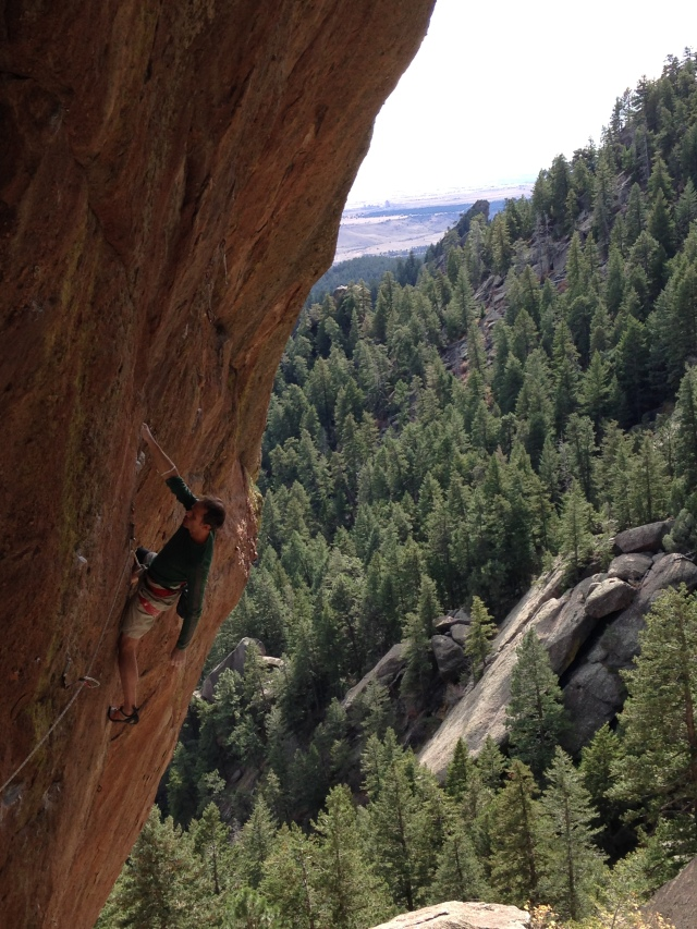 Homeboy Chris Lee showing how its done on Slave to the Rhythm(5.13b)